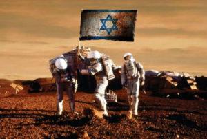 Sionistas Colonialistas Colonizando el Planeta Marte