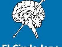 Logo de El Ciudadano, un cerebro con una flecha atravesada, exáctamente lo que buscan en sus lectores.