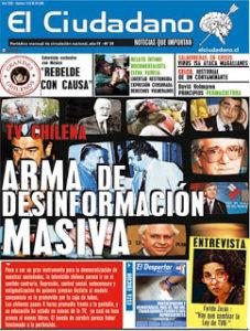 El Ciudadano culpando a otros medios de causar desinformación masiva mientras causa desinformación masiva