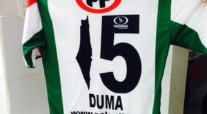 Camiseta de Club Deportivo Palestino con mapa de la Palestina Histórica reducido en un 75%