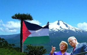 Bachelet Y Abbas reconociendo territorio palestino en la Araucanía
