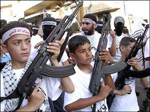 """Síntomas de los niños palestinos expuestos al """"Plan Teletuvia""""."""