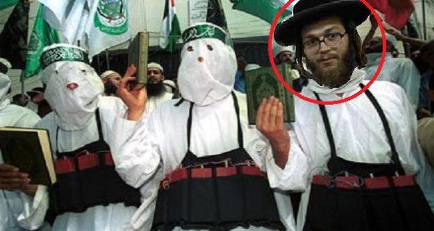 Judío mágico captado en plena transformación.