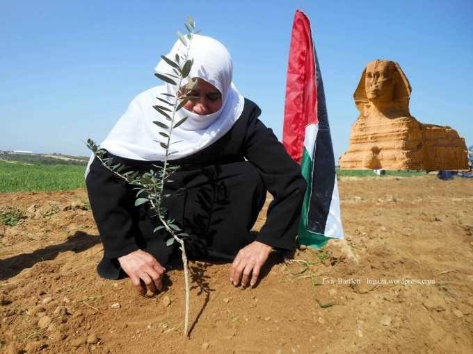 La Gran Esfinge de Gaza